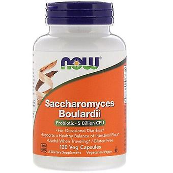 Nu Foods, Saccharomyces Boulardii, 5 miljard CFU, 120 Vegetarisch Capsules