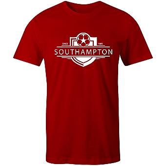 Southampton 1885 Established Badge Football T-Shirt