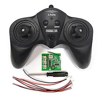 Remote Controller Power Transmitter Receiver Radio System For Rc Boat (black)