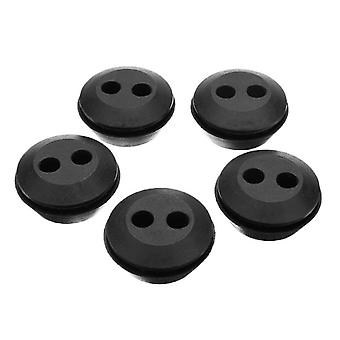 5pcs Rubber Fuel Gas Line Grommet Replacement - Circle Eyelets And Grommets