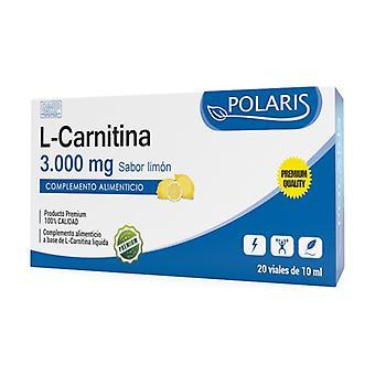 L-Carnitine Lemon Flavor 20 vials of 10ml