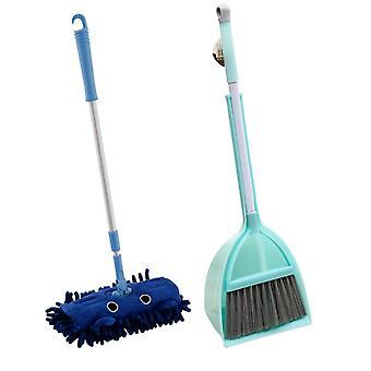 Předstírejte hrát úklid úklidové nástroje sada s mopem