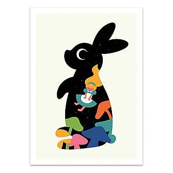 Kunstposter - Alice - Andy Westface
