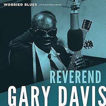 Davis,Reverend Gary - Worried Blues [Vinyl] USA import