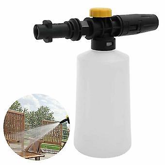 750Ml snow foam lance bottle for car washer compatible with karcher k2-k7 sprayer