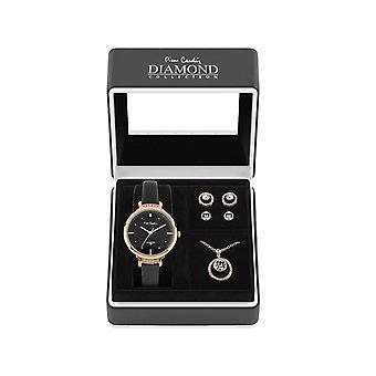 Pierre Cardin PCDX7903L7 Gift Set Watch & Necklace & Earrings