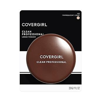 2 x Covergirl Clean Professional Loose Powder 20g - 110 Translucent Light