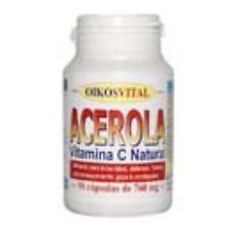Oikos Acerola-500 Vitamina C 90Cap