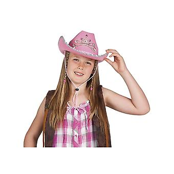 Chapeau cowgirl princesse fille