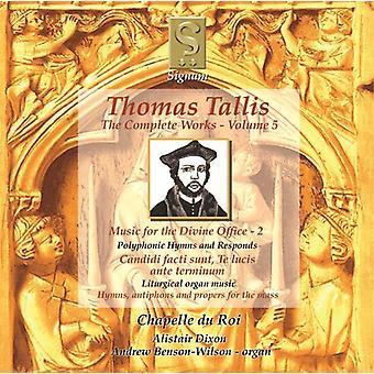 Thomas Tallis - Thomas Tallis: Music for the Divine Office, Vol. 2 [CD] USA import