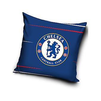 Chelsea FC blå fyldt pude