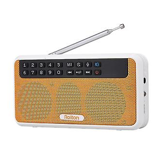 E500 Wireless Fm Radio 6w Hifi Stereo Bluetooth-højttaler musikafspiller Digital