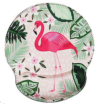 Flamingo Wrist Pad Mouse Pad Comfortable Computer Thickened Wrist Support