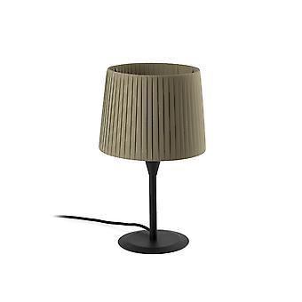 Faro SAMBA - Lampa stołowa Okrągła zwężana zieleń, E27