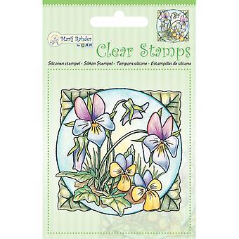 Jeje Marij Rahder Clear Stamps Violets