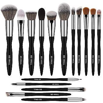 BS06 - BS-MALL 16 st. exklusiva Make-up / sminkborstar av Bästa Kvalité
