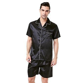 Homme Satin Silk Soft Sleepwear Pyjama Ensemble