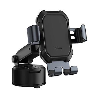 Baseus Universal Phone Holder Car with Dashboard Stand - Gravity Smartphone Holder Silver