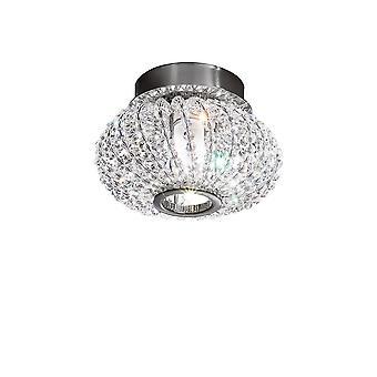 Designer Crystal Surface Mounted Spotlight Gepolijst Chroom, 1x G9