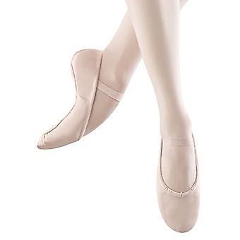Bloch Dance Women's Dansoft Full Sole Leather Ballet Slipper/Shoe Dance, Theatrical Pink, 6.5 D US