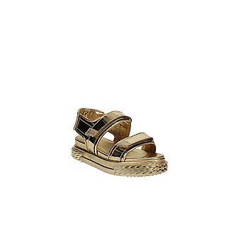 Giuseppe Zanotti | Blabber Metallic Sport Slingback Sandals