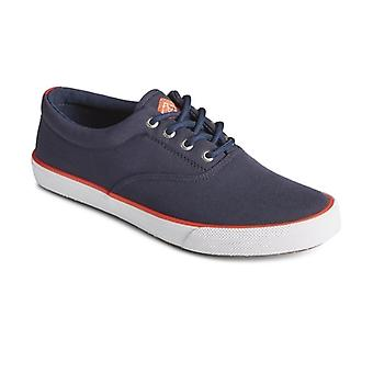 Sperry Striper Ii Cvo Sustainable Mens Rpet Trainers Navy