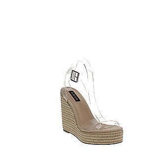 Aqua | Salyc Espadrille Wedge Platform Sandals
