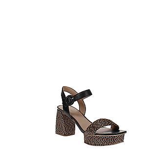 Bernardo | Regan Raffia Platform Sandal