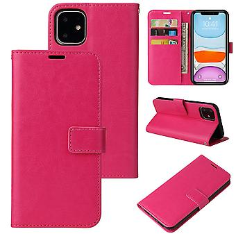 Flip folio leather case for samsung s10 rose red pns-3337
