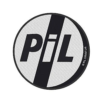 PIL (Public Image Ltd) - Logo Standard Patch