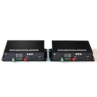 Fiber Videos Optical Transmitter & Receiver16 Channel Video Converter