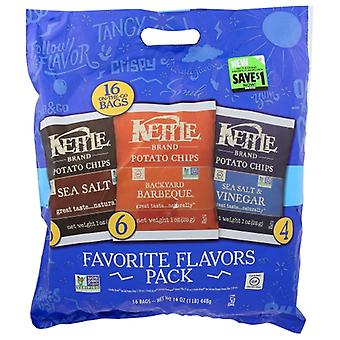 Kettle Foods Chip Kettle Variety 16Pk, Case of 6 X 16 Oz