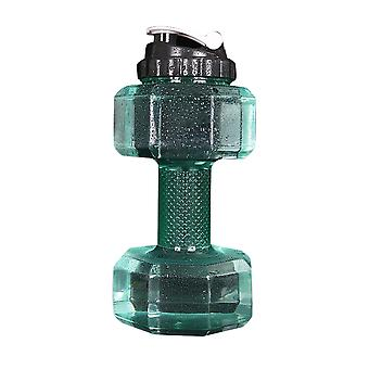 Swotgdoby Large Capacity Dumbbell Shape Water Bottle For Gym, Running, Outdoors, Cycling, And Camping