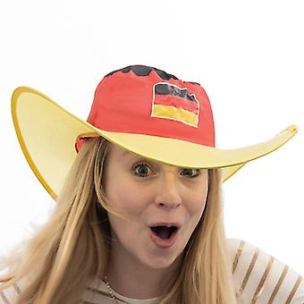 German Flag Foldable Hat