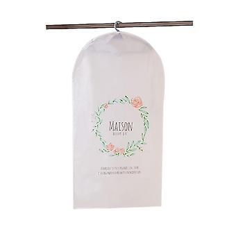 Funda de polvo de ropa, almacenamiento de cubierta de traje a prueba de polvo transparente y ligero, bolsa de ropa para armario