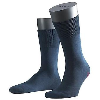 Falke Run Ergo Midcalf Socks  - Marine Blue