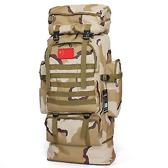 Large-capacity Waterproof And Expandable Outdoor Hiking Bag Travel Backpack