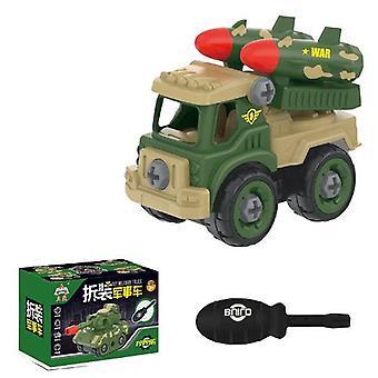 Children's afneembare raket auto speelgoed