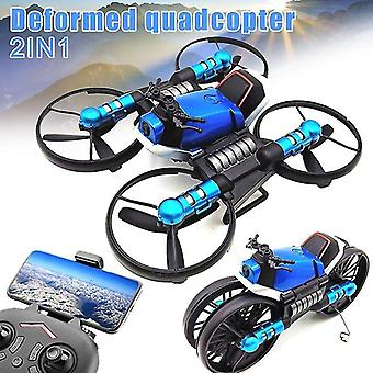 2.4G Deformation Motorcycle Folding Quadcopter Drone Double Mode 2 in 1 Toy BM88 Motorcycles