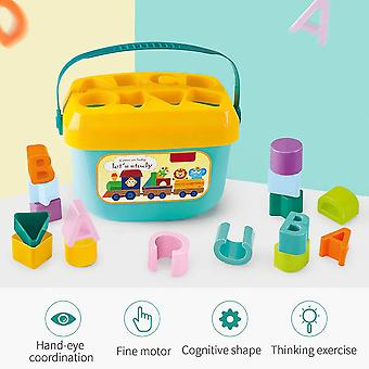 Intelligence Box Geometric Shape Sorter Baby Cognitive And Matching Toys Gift|