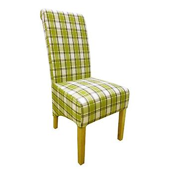 Dora Oak And Herringbone Designed Chair - Color Selection - Fully Assembled