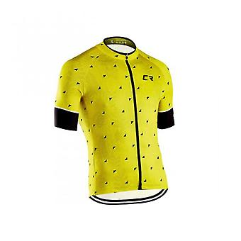 New Cr Men's Summer Comfort And Versatility Breathable Short Sleeve Cycling Jersey Mtb Clothes Short Bicycle Clothes