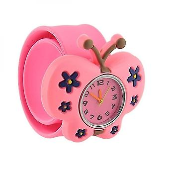 Kinderen Cartoon Silicone Horloge Patted Electronic Quartz Fashion Lovely Watch