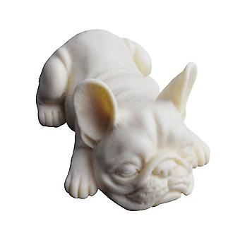Cake pans molds 3d french bulldog silicone mold soap molds