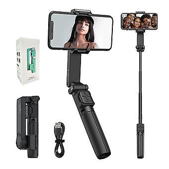Moza nano se smartphone selfie tyč gimbal pro vlogging youtube cestovatelské fotografování (Černá)