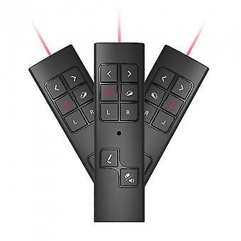 Multimédia Laser Sans Fil Présentateur Télécommande Présentation Souris Flip Pen Pp