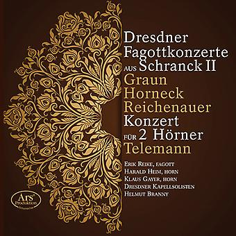 Graun, Johann / Horneck, Graun / Branny, Helmut - Dresden Bassoon Concerto [SACD] USA import