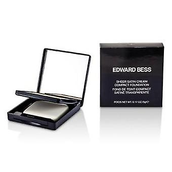 Edward Bess Sheer satinado crema base compacta - #01 Light - 5g / 0.17 oz