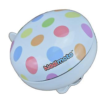 Kiddimoto Large or Small Cycle Bell Pastel Dotty