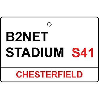 Chesterfield / B2Net estádio rua assinar refrogerador de ar do carro